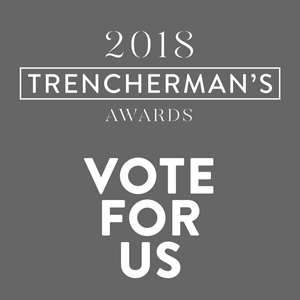trenchermansawardsVoteforUswebstickergrey