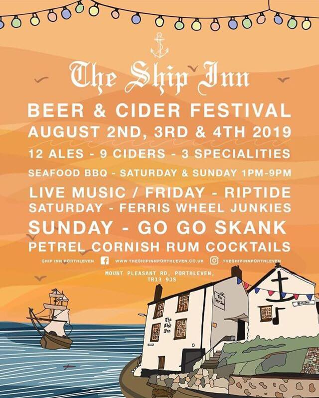 BEER AND CIDER FESTIVAL STARTING TONIGHT!